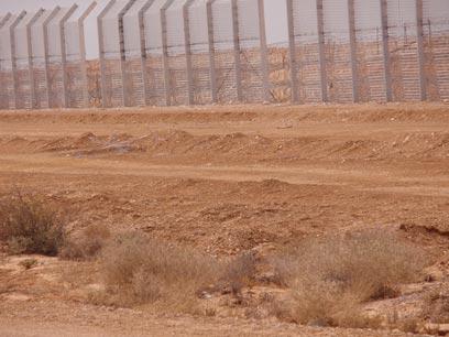 גבול ישראל מצרים. חשש ממהומות אחרי ההפיכה (צילום: רוחמה ביטון) (צילום: רוחמה ביטון)