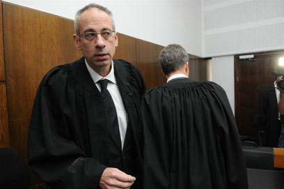 Olmert's lawyer Ben Tzur is also named for obstruction of justice in the polie investigation. (Photo: Yaron Brener) (Photo: Yaron Brener)