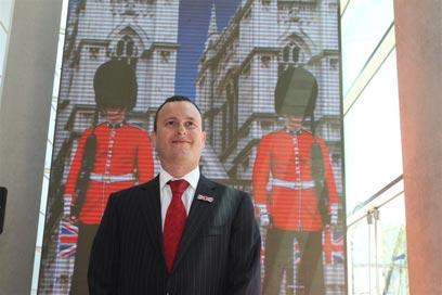 Britain's Ambassador to Israel Matthew Gould (Photo: Ofer Amram)