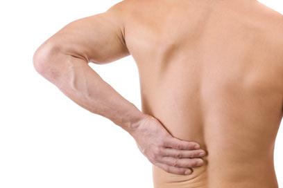 השרירים שלא פועלים נכון עלולים לגרום לכאבי גב (צילום: shutterstock) (צילום: shutterstock)