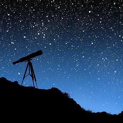צופים בכוכבים. ארכיון (צילום: shutterstock)