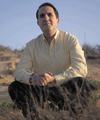 יחיאל לסרי, ראש עיריית אשדוד (צילום: אבי רוקח)