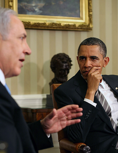 Obama is aware of Netanyahu's star power and his effect on Congress (Photo: MCT)