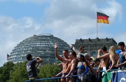 מצעד הגאווה בברלין  (צילום: shutterstock) (צילום: shutterstock)