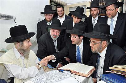 """הרב שטיינמן. מ""""רבני בני ברק"""" (צילום: שוקי לרר) (צילום: שוקי לרר)"""