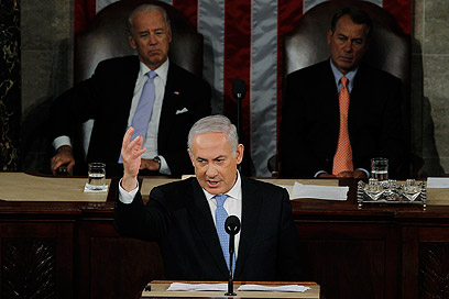 Prime minister's 2011 Congress address. 'Netanyahu is no longer obsessed with Iran, he is obsessed with Election Day' (Photo: Reuters)