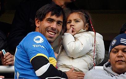 קרלוס טבס. ממשיך לעשות חיים בארגנטינה (צילום: AP) (צילום: AP)