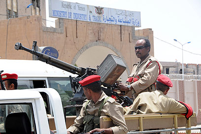 Yemeni soldiers in Sana'a (Photo: EPA) (Photo: EPA)