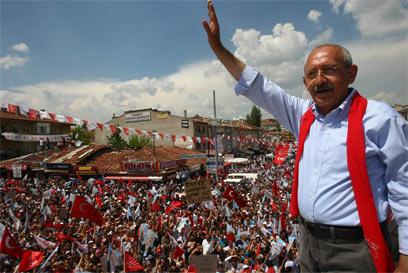 כמאל קיליצ'דראולו. עימות עם הקואליציה (צילום: AFP) (צילום: AFP)