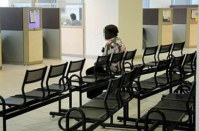 לשכת תעסוקה. אבטלה נמוכה עם כוכבית (צילום: ירון ברנר ) (צילום: ירון ברנר )