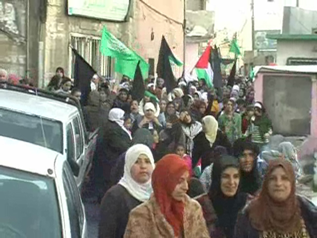 Protest in Umm Al-Fahm. (Photo: Ido Becker)