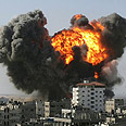 Air strike on Gaza (Photo:AFP)