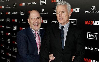 """ג'ון סלאטרי ומתיו ווינר. """"קבוצה של אנשים עם אישיות מסויימת"""" (צילום: AP)"""