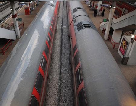 אחרי סיום הפרויקט - יותר רכבות בשעות העומס (צילום: ירון ברנר) (צילום: ירון ברנר)