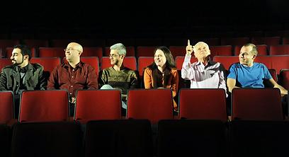 """ששת היוצרים בפסטיבל """"צו קריאה"""". נבחרו מתוך 60 (צילום: בארני ארדוב ) (צילום: בארני ארדוב )"""
