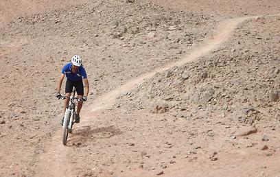 """דוגמה למסלול """"סינגל"""" (צילום: אבי גנאור) (צילום: אבי גנאור)"""
