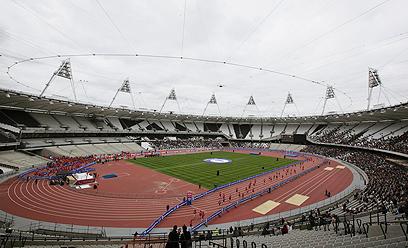 המשחקים מתקרבים, הזונות מתרחקות. האצטדיון האולימפי בלונדון (צילום: רויטרס) (צילום: רויטרס)