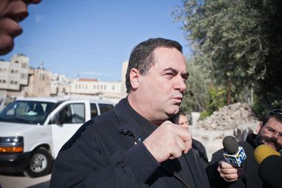 שר התחבורה, ישראל כץ (צילום: נועם מושקוביץ) (צילום: נועם מושקוביץ)