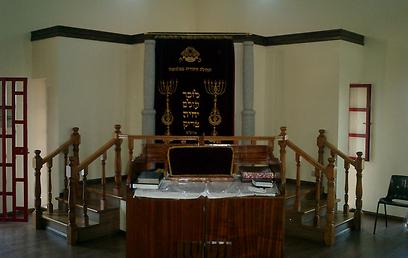 """בית הכנסת של יהודי בלמונטה, כיום (צילום: באדיבות """"שבי ישראל"""") (צילום: באדיבות"""