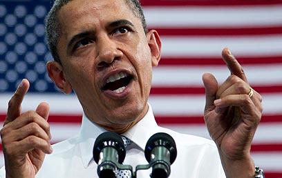 """לא """"קונה"""" את הפרובוקציות והאיומים של פיונגיאנג. אובמה  (צילום: AP)"""