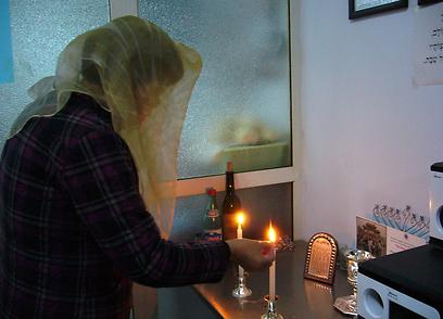 """יהודי קאיפנג נקראו גם """"כת תולשי הגידים"""". לפי צ'ן יואן השם הוענק להם עקב מנהגם לנקר את גיד הנשה, כפי שדורשת ההלכה היהודית (צילום: שבי ישראל) (צילום: שבי ישראל)"""