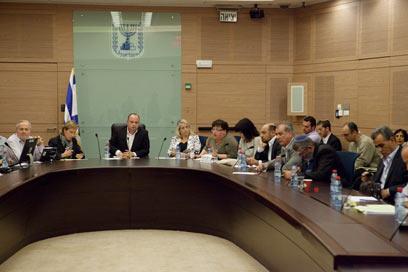 ועדת החינוך של הכנסת, היום (צילום: אוהד צויגנברג) (צילום: אוהד צויגנברג)