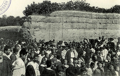 היהודים. נאלצו לברוח מבתיהם (צילום: פרופ' יוסף פנטון, אוסף פרטי) (צילום: פרופ' יוסף פנטון, אוסף פרטי)