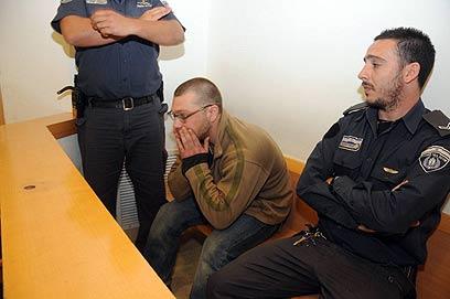 דורושוב בבית המשפט (צילום: הרצל יוסף) (צילום: הרצל יוסף)