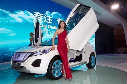 גרייט וול האבאל E, תצוגה חשמלית ליצרנית הסינית שכבר מוכרת בישראל טנדר (צילום: EPA) (צילום: EPA)