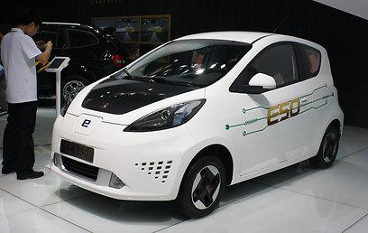 רוואה E50, חשמלית קטנה לתצוגה ()