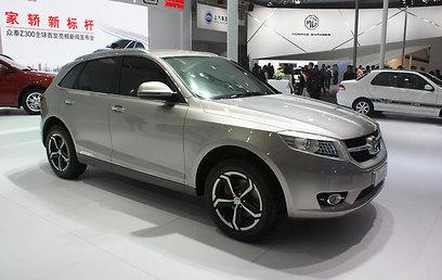 זו לא דודג' חדשה - אלא זוטי (Zotye) סינית מדגם T600 ()