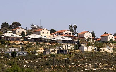 Jewish settlement in West Bank (Photo: AFP)