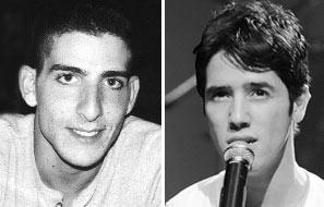 """הרן פרנס ז""""ל והראל סקעת המבצע את שירו, """"אני"""" (צילום: יוני טובלי) (צילום: יוני טובלי)"""