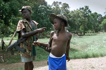 חייליו של טיילור היו מעורבים בקניבליזם ובקטיעת איברים (צילום: AFP) (צילום: AFP)