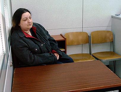 הנדנוביץ' בבית המשפט (צילום: AFP PHOTO / BOSNIA PROSECUTORS OFFICE) (צילום: AFP PHOTO / BOSNIA PROSECUTORS OFFICE)