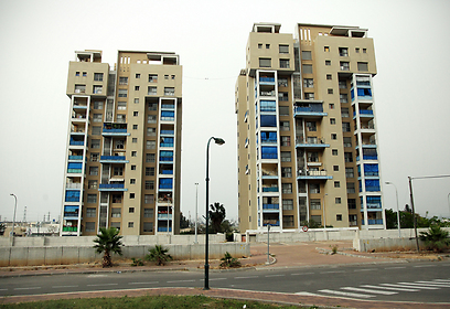 השכונה מאופיינת בבנייה משולבת (צילום: אבישג שאר יישוב)