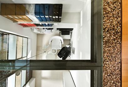 זכוכית שקופה. הרצפה המפתיעה (צילום: עודד סמדר) (צילום: עודד סמדר)