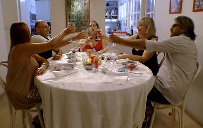תוכנית אירוח. בואו לאכול איתי  (צילום: ערוץ 1) (צילום: ערוץ 1)
