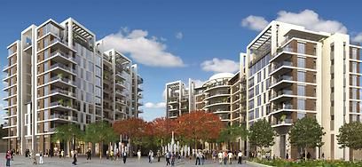 הדמיית פרויקט בצלאל בתל-אביב (הדמיה: ישר אדריכלים) (הדמיה: ישר אדריכלים)