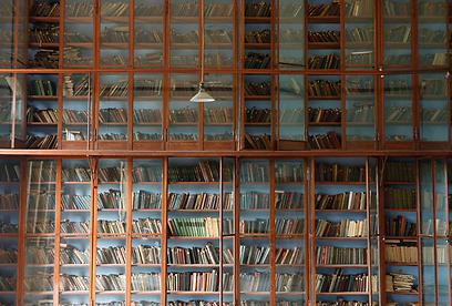 הספרייה המרשימה במוזסוויל (צילום: איל תגר) (צילום: איל תגר)