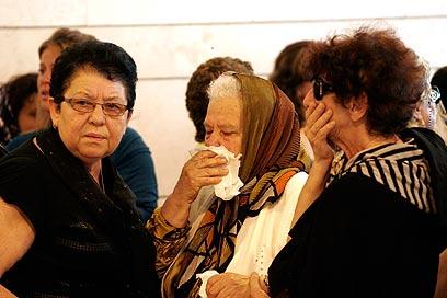 """סבתו של ויכמן. """"היה לך לב עצום"""" (צילום: אליעד לוי) (צילום: אליעד לוי)"""