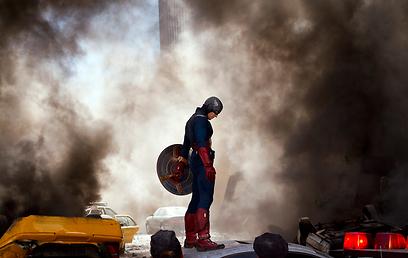 קפטן אמריקה - סופר הירו לדוגמא ()