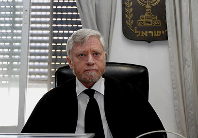 State Comptroller Yosef Shapira (Photo: Gil Yochanan)