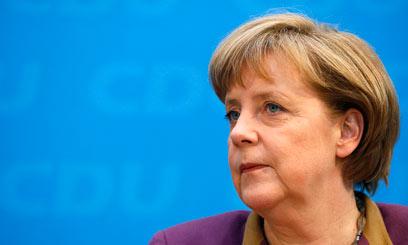 ממשלת גרמניה לא מגיבה על פעולות שירותי הביון הגרמניים. מרקל (צילום: רויטרס) (צילום: רויטרס)