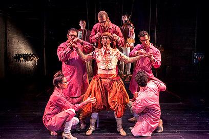 """""""הסוחר מוונציה"""" בהבימה. """"היו צריכים לסגור את התיאטרון"""" (צילום: אלון ז'רר) (צילום: אלון ז'רר)"""
