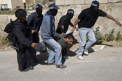 עצור באירועים במזרח ירושלים, היום (צילום: AFP) (צילום: AFP)