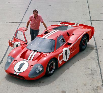 """אבי הניצחון של ה-GT40 בלה-מאן. קרול שלבי, ז""""ל ()"""