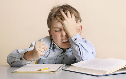 כיצד מתמודד הילד במצבי תסכול וקושי? (צילום: shutterstock)