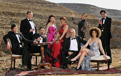 כוכבי העונה של תיאטרון באר שבע (צילום: יוסי צבקר) (צילום: יוסי צבקר)
