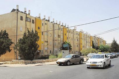 השכונה מאופיינת בבנייה נמוכה (צילום: הרצל יוסף) (צילום: הרצל יוסף)